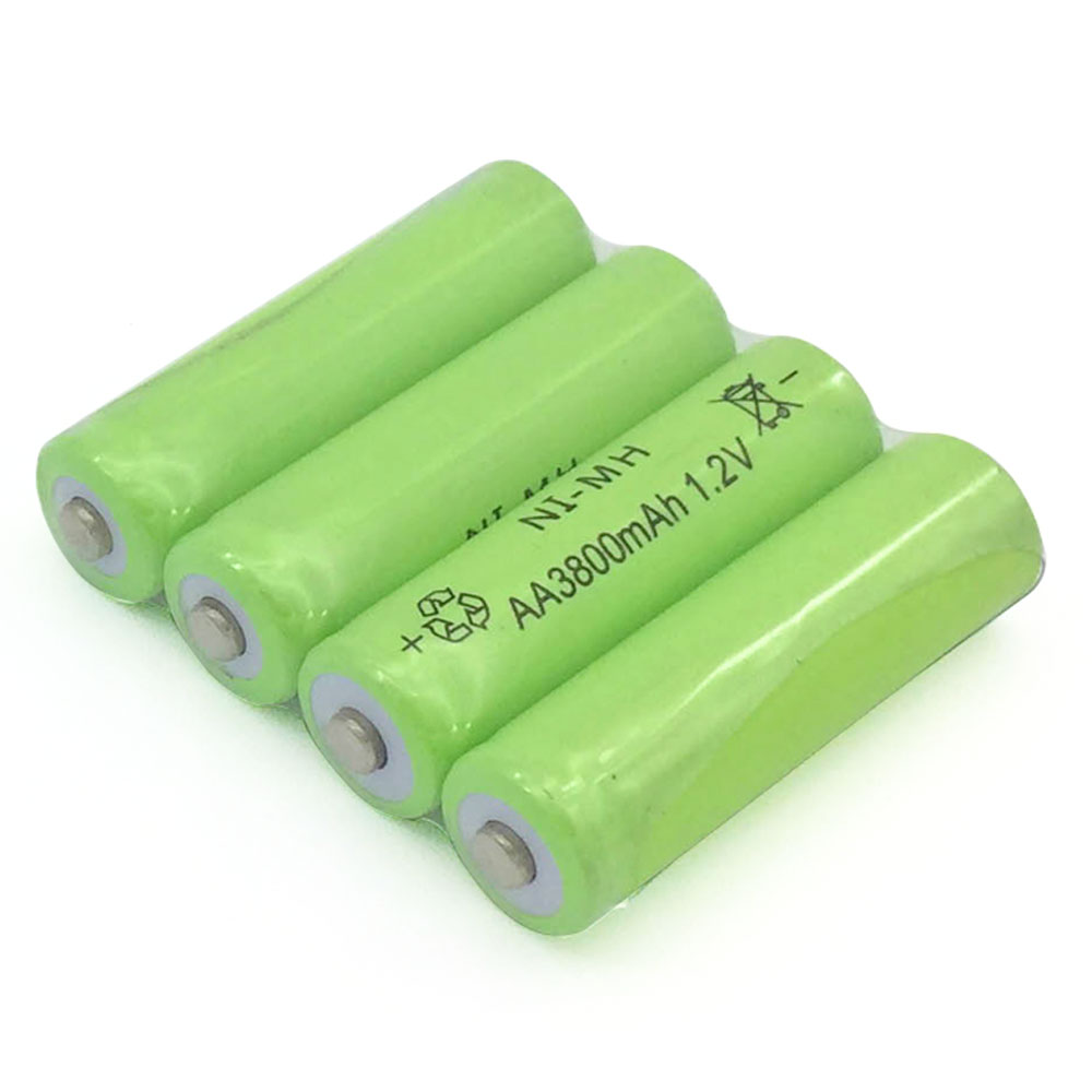 8pack New Brand AA 3800mah 1.2v Battery AA rechargeable battery for Remote Control Toy light Batery free shipping