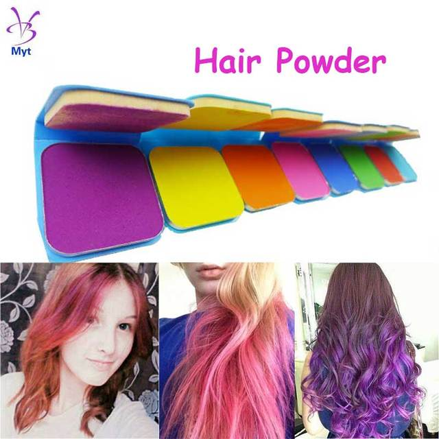 Hair Color Chalk Pastel High Quality Blue Cake Temporary Colored ...