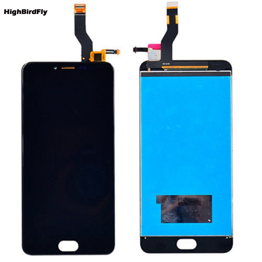 5.5 For Meizu M3 Note L681H (not for m681)m3note Lcd Screen Display With Touch Screen Digitizer Glass frame Full Set
