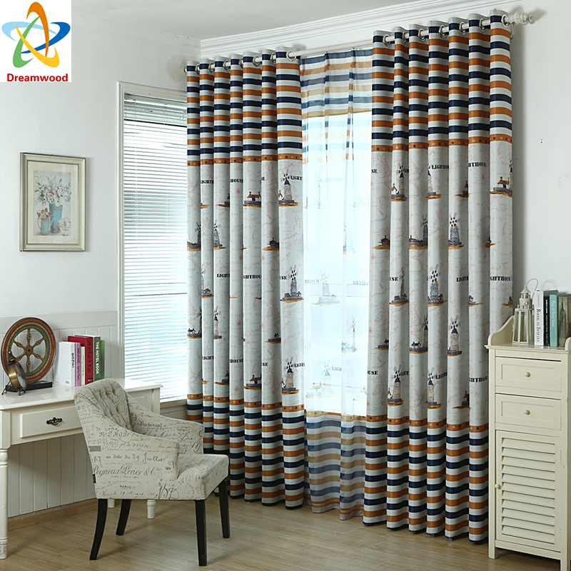 Dreamwood carton style children bedroom blackout curtains - Childrens bedroom blackout curtains ...