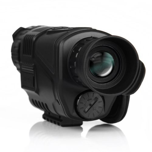 Tactical Infrared Digital Night Vision Monocular Scope 5X40 Zoom 200m for Hunting