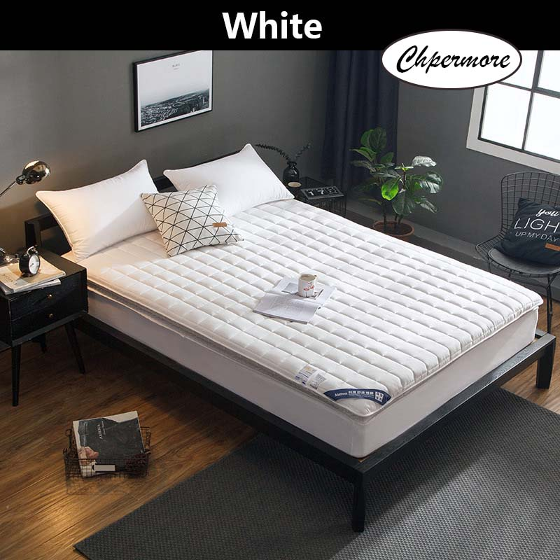 Chpermore Thick Cotton Mattress Foldable Single double student dormitory Mattresses Cotton Cover Tatami King Queen Size