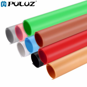 "Image 1 - PULUZ Photography background Screen 28.9*14.7""Solid color Backdrop Background PVC Paper Board for Photo Lighting Studio Tent Box"