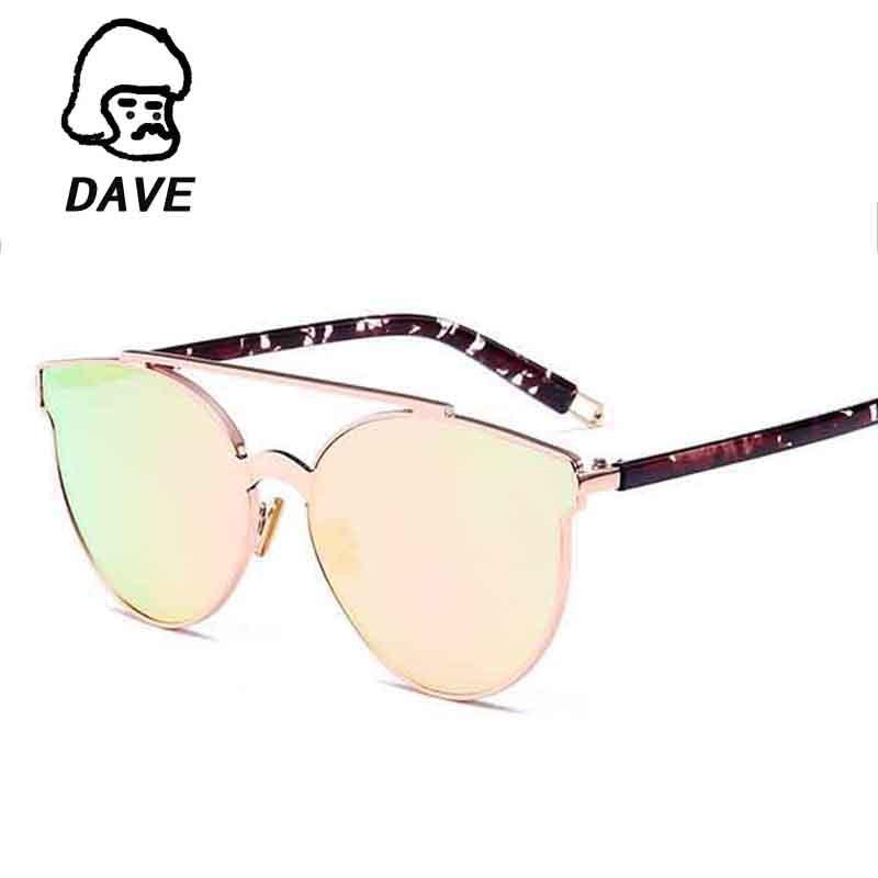 """""""DAVE"""" """"Vintage Cat Eye"""" akiniai nuo saulės, su prekės - Drabužių priedai"""