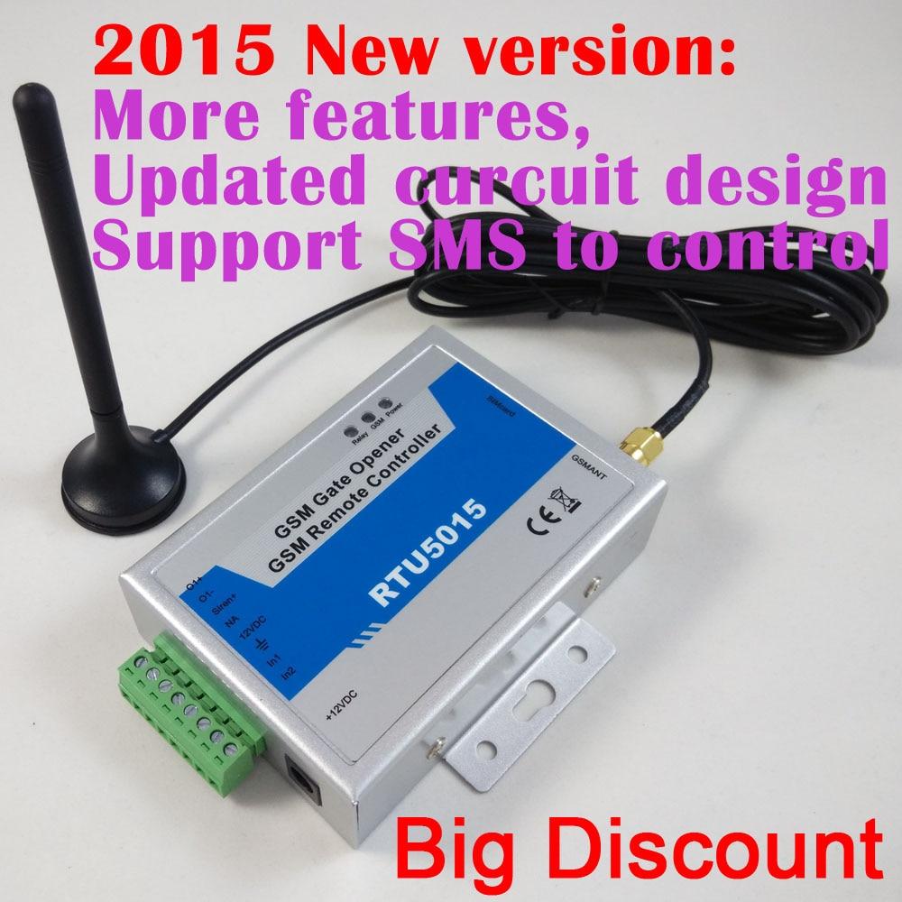 Ingyenes szállítás postai úton RTU5015 GSM kapu ajtónyitó - Biztonság és védelem - Fénykép 2