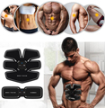 EMS Abdominal Fitness Exerciser Device Abdominal Bodybuilding Muscles Intensive Training Electric Weight Loss Slimming Massager