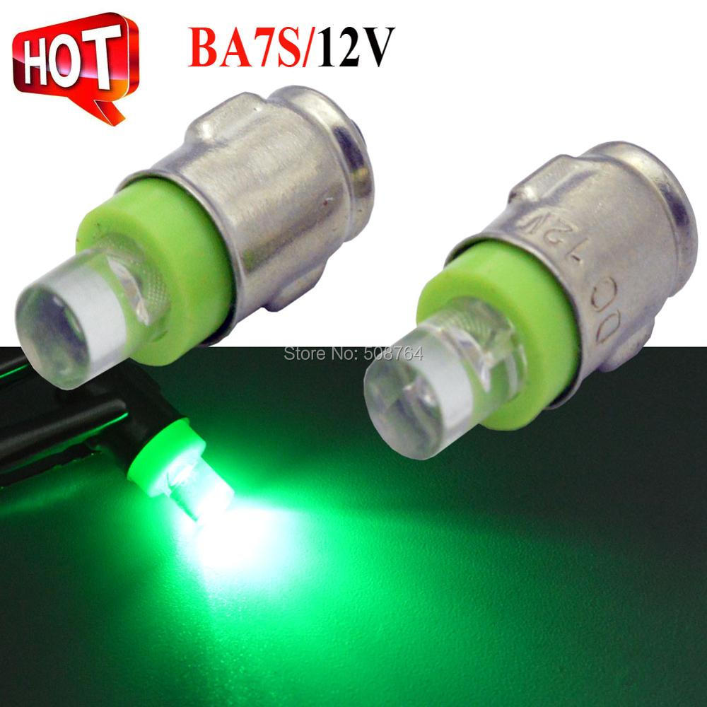 4Pcs Positive Earth White Blue Green 12V BA7S LLB281 GLB281 DIP LED Car Light Reverse Light Bulb Warning Lamp in Signal Lamp from Automobiles Motorcycles