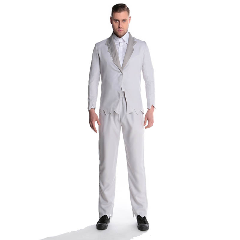 Frightened 2016 Cosplay Costumes For Man Vampire Witch Devil Zombie Adult Party Ghost Halloween Men Costume L15342