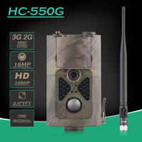 Outdoor Deer Trail Camera Photo Traps Waterproof 16MP Digital Cameras 3G HC 550G WCDMA Hunting Trail Camera HC550G with 24LEDS