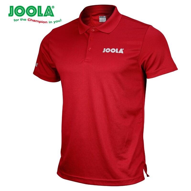 2018 nouveauté JOOLA tennis de Table vêtements de Sport à séchage rapide à manches courtes hommes ping-pong chemise Badminton Sport maillots
