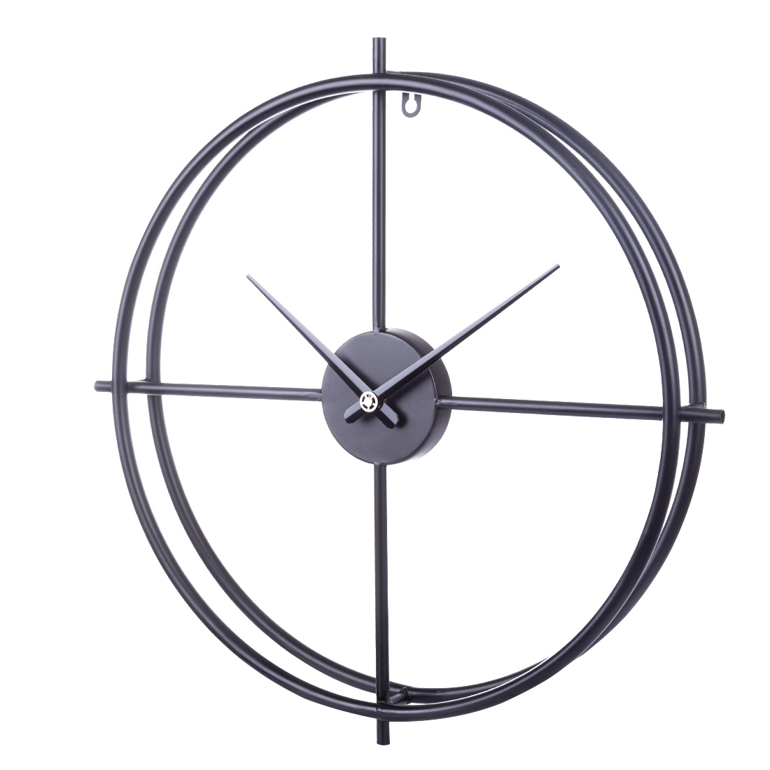 50cm 20 pouces rétro Style européen horloge murale ménage chambre fer Art horloge décor mural Style méditerranéen décoration de la maison-in Horloges murales from Maison & Animalerie    1