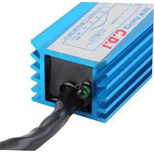 Image 3 - 70x35x29mm New Blue Arrival Performance 6 Pin Racing CDI Box Ignition Coil For GY6 Scooter Moped 50cc 150cc