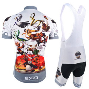 Image 2 - BXIO 2020 מצחיק רכיבה על אופניים גופיות Ropa דה Ciclismo שומן דוב שודדי מאן פרו רכיבה על אופניים Completo Ciclismo Estivo 081