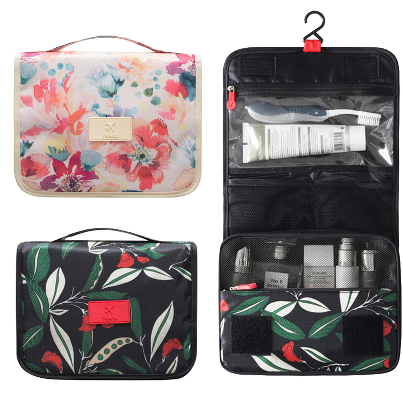 Lady's cosmetic bag travel essentials organizer Original travel toiletry bag for