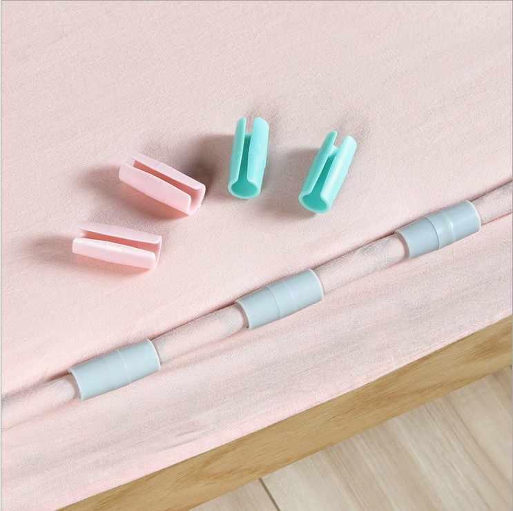 12 Pcs/set Rumah Tinggal Selimut Klip Tempat Tidur Kasur Pengencang Set Memperbaiki Slip-Resistant Clamp Selimut Bed Cover Grippers pemegang