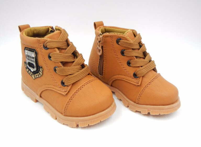 16 autumn children sport shoes boys chaussure baby girls short boots for kids sneakers child Ankle casual martin shoes 5