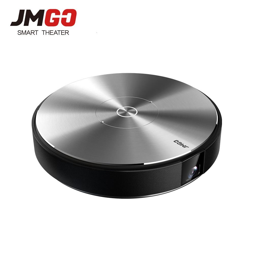 JmGO N7L Full HD Projetor 1980*1080 P del Teatro Domestico, 2G + 16G, 700 ANSI Lumen, 300 pollici, HDMI, USB, Bluetooth, Android WIFI di Sostegno 4 K 3D