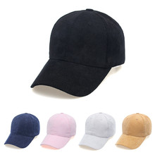 Winter Warmer Hats for Woman Corduroy Solid 6 Color Cute Hat Girls Autumn Unisex Baseball Cap Male Adjustable Cap Top Quality autumn go embroidery corduroy baseball hat