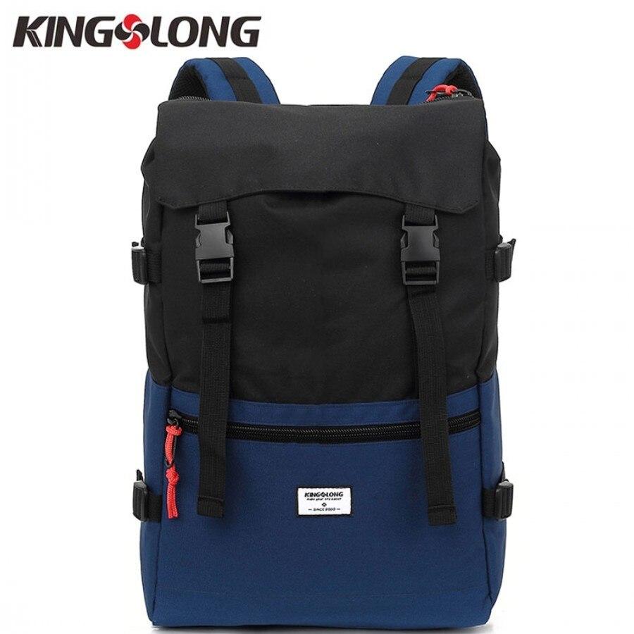 KINGSLONG Travel Men Backpack Waterproof Drawstring Bag America Backpack for a Laptop Male Large Capacity Bag for Teenagers #53