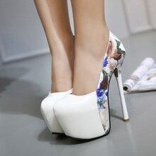 Women Pumps High Heels 2016 Fashion Round Toe Women Shoes Thin Heels Pumps Shoes Woman