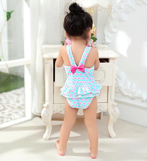 1-8 Years Kids One piece Swimsuit For Girls Toddler Baby Swimwear Summer Beach Clothing Children Girl Bathing Suit Beach Wear
