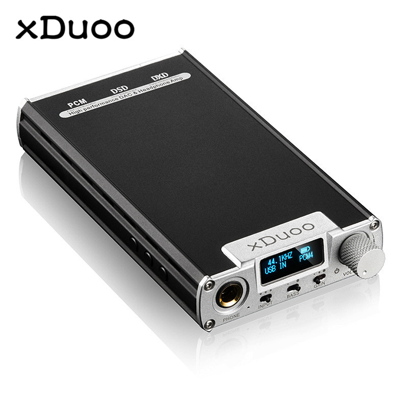 Original XDUOO XD 05 Portable Audio DAC Headphone Amplifier HD ILED Display Professional PC USB Decoding Amplifier xduoo xd 01 usb optical coaxial dac headphone amp l portable headphone amplifier 24bit 192khz headphone amplifier