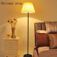 Modern simple floor lamp living room bedroom LED dimming eye protection vertical desk lamp Postage free