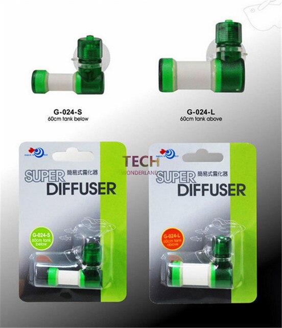 Супер co2 распылитель углекислого газа пузырь диффузор для аквариума трава завод бак Размеры S/L