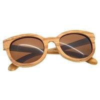 New Fashion Design Beach Glass Luxury Wooden Frame Men Women Comfortable Bamboo Sunglasses Summer Style Vimtage