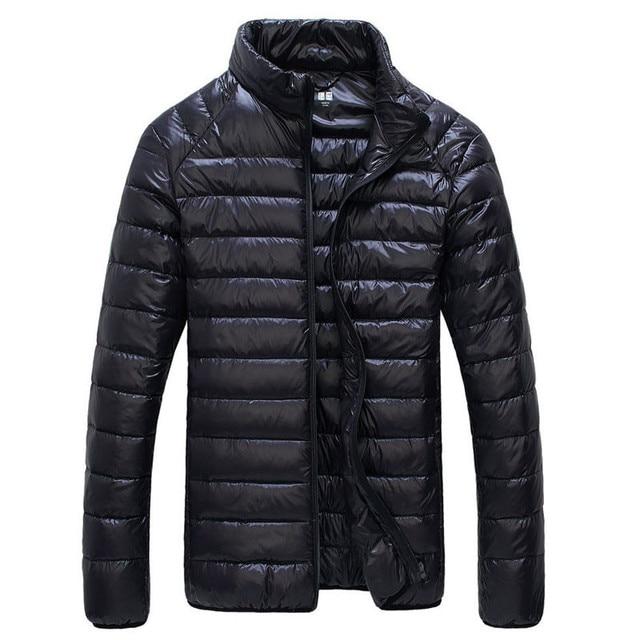 2016 Winter Men Coat Down Parkas Outerwear Ultralight Men 95% White Duck Down Jacket  CD110