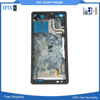 For Sony Xperia Z2 D6502 D6503 Black White Purple New Front Middle Frame Bezel Chassis Tools