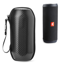 Купить с кэшбэком Wireless Bluetooth Speakers Travel Carry Cases Pouch For JBL Flip 4 Hard EVA With Belt Shockproof Portable Speaker Outdoor Bags