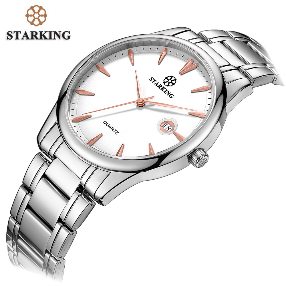 Top Luxury Brand Men Watch Full Stainless Steel Strap Business Watches Men's Quartz Date Clock Men Wrist Watch relogio masculino longbo men and women stainless steel watches luxury brand quartz wrist watches date business lover couple 30m waterproof watches