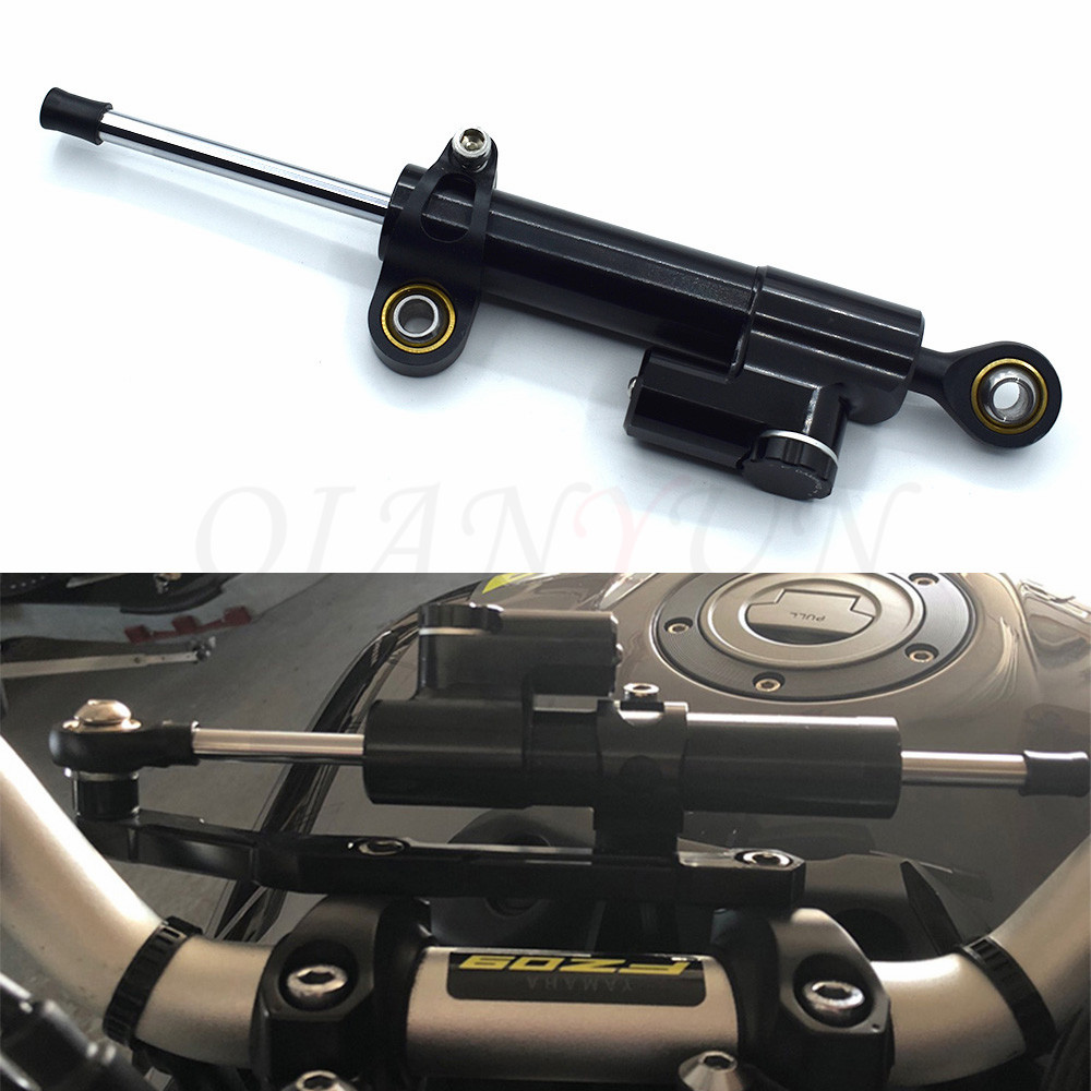 Universal Motorcycle Damper Steering Stabilize Safety Control Aluminum For HONDA CRF1000L CRF 1000L Africa Twin CB600F