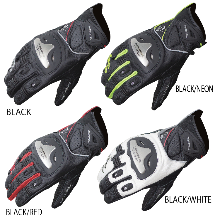 Free shipping new spring and autumn KOMINE GK 170 alloy motorcycle racing gloves touch gloves