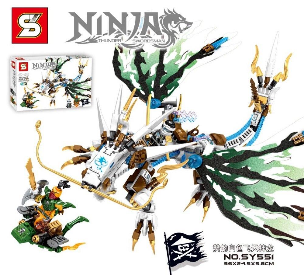buy niinjagoes flying dragon minifigures building blocks action figures baby. Black Bedroom Furniture Sets. Home Design Ideas