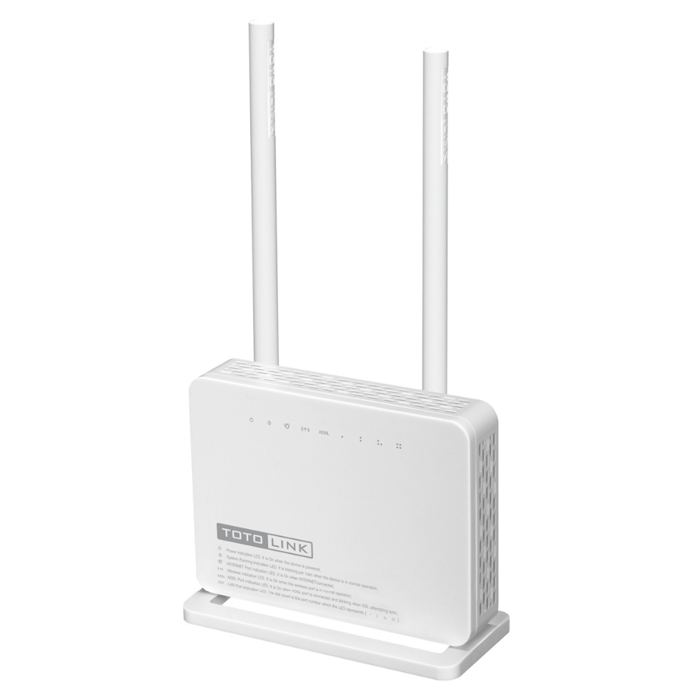 Totolink Nd300 Multi Functional Wireless N 300mbps Adsl 2 Modem S505 5port 10 100mbps Desktop Switch Wifi Routerwith X 5dbi High Gain Antenna Portuguese Version In Routers From