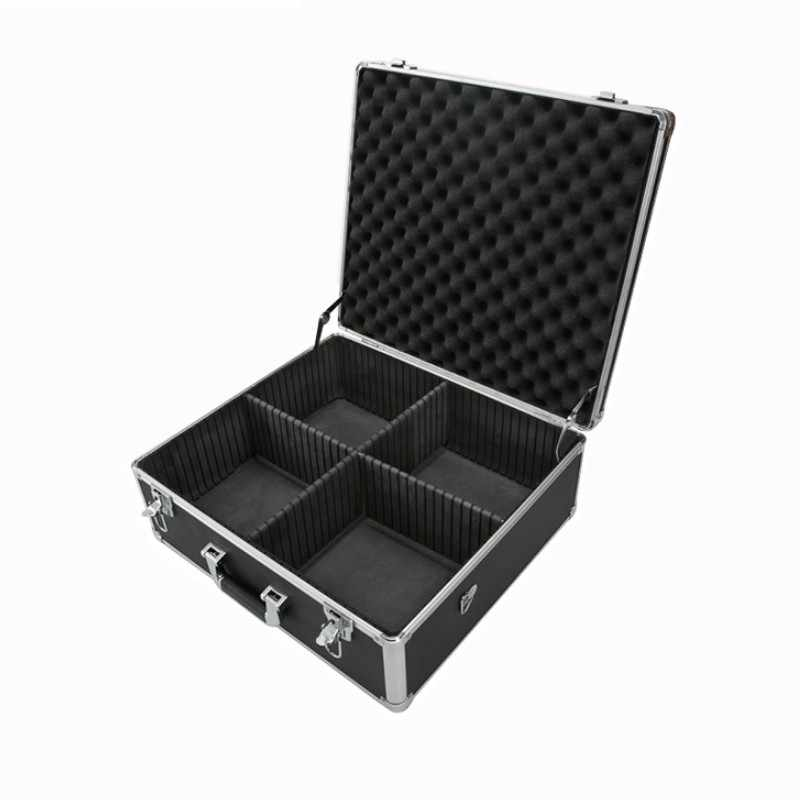 50x42x22 cm Tool case Portable Aluminium toolbox Thuis Opbergdoos Koffer Reisbagage Met pre -cut spons