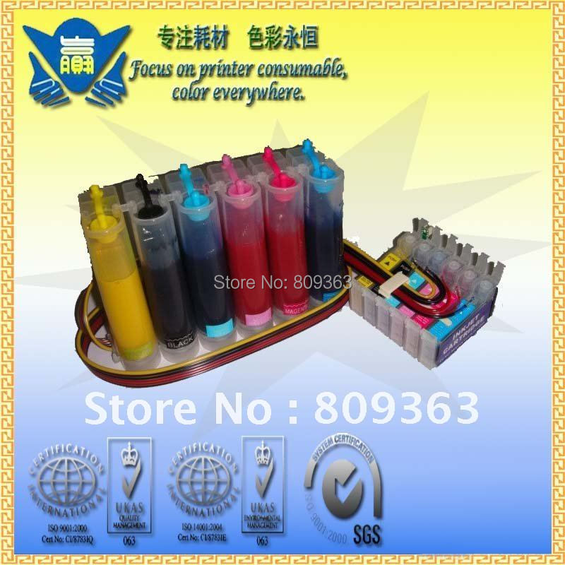 Sublimation Ink Ciss Continuous Ink Supply System For