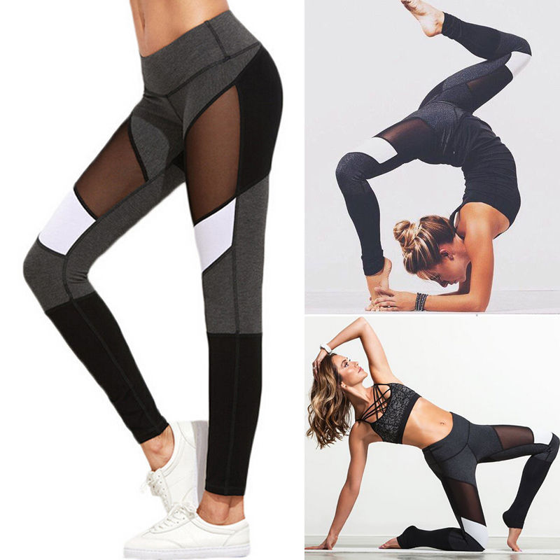 Women   Pants   2017 New Fashion Women High Waist Fitness   Pants   Women   Capris   Casual Clothes Stretch Trousers Famale Clothing