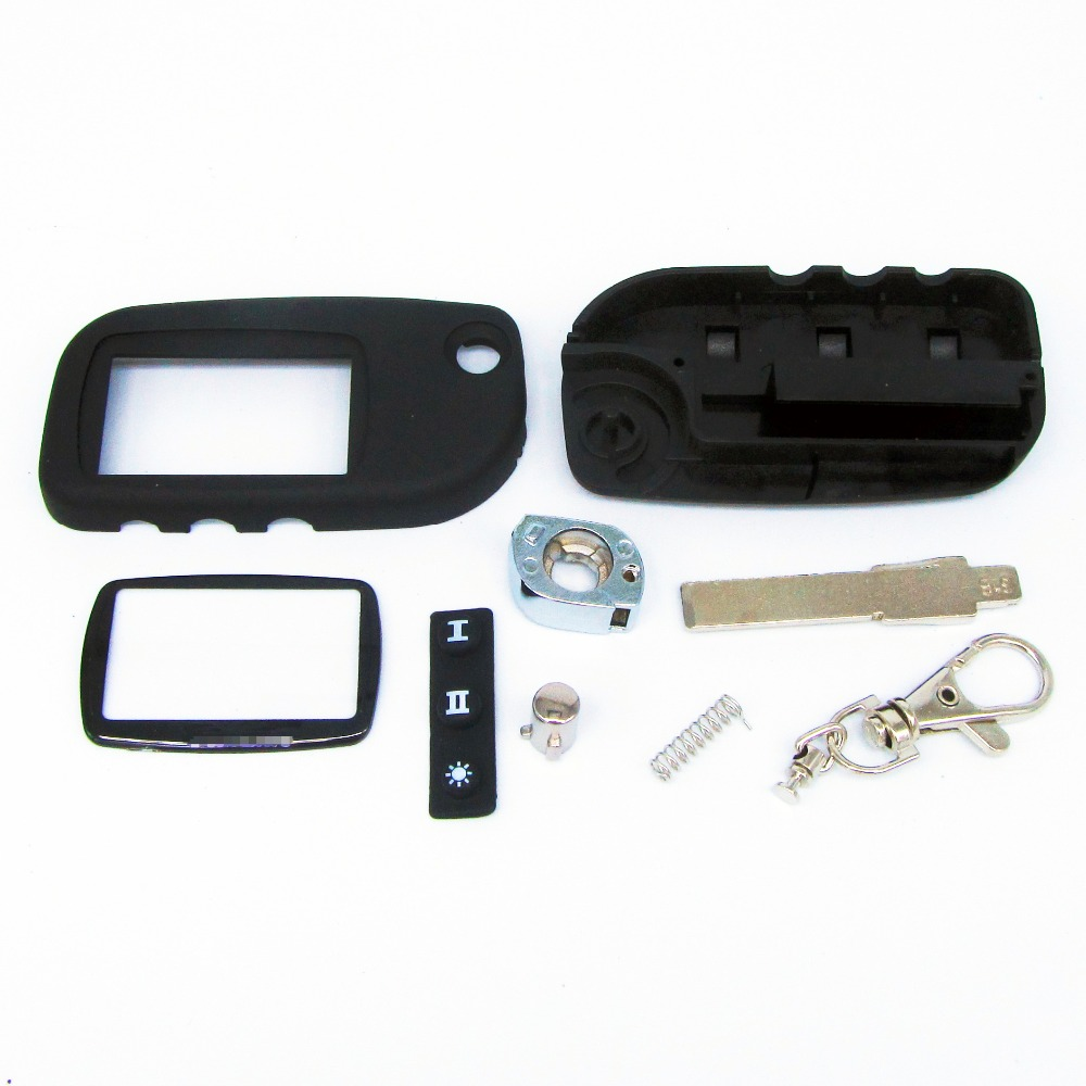 New arrival switchblade key case for Starline A9 A6 A8 A4 uncut blade fob case cover A9 folding car flip remote