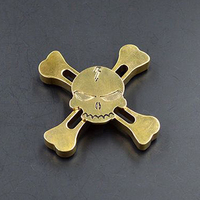 Cool Skull Finger Spinners 2017 Hot Selling Fidget EDC Toy Hand Spinner Kid Gift For Autism and ADHD Metal spinners