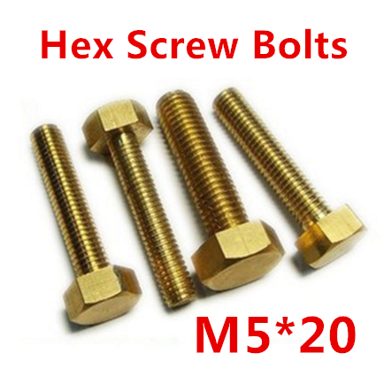 free shipping 50 pieces Metric Thread M5*20mm Brass Outside Hex Screw Bolts beiens furniture doll 19 pcs children kids baby girl s cute lovely toy fashion makeup chair make up table set dresser