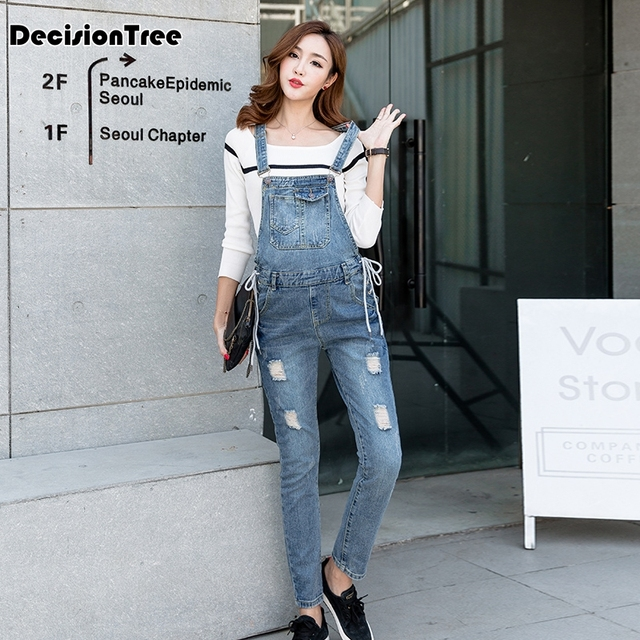 2019 new jumpsuit maternity pants long pregnancy clothes for pregnant women overalls roupa gestante trousers