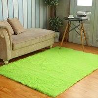 Pure Color Carpet Home Rectangle Children Bedroom Balcony Carpet For Livingroom Warm Absorbent Anti Skid Rug