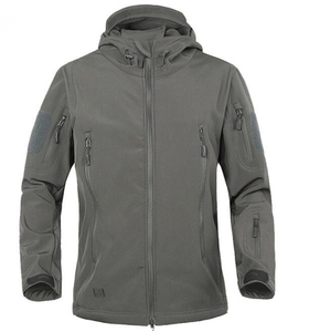 Image 2 - 2020 TAD Winter Shark Skin Military Windproof Tactical Softshell Jacket Men Waterproof Army soft shell Coat Windbreaker Rain