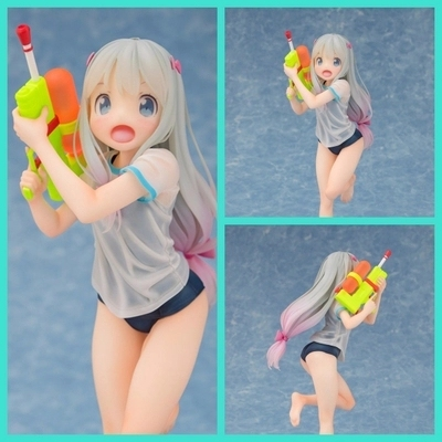 Cute Anime Eromanga Sensei Izumi Sagiri Sexy Figure 1/8 scale figure Toy Swimsuit Ver. Model no retail box (Chinese Version)