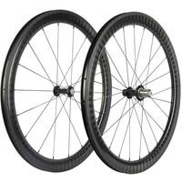 Full Carbon Fiber Toray T800 12K Twill Wheels 30mm 38mm 50mm 60mm Clincher Bicycle Wheelset Novatec