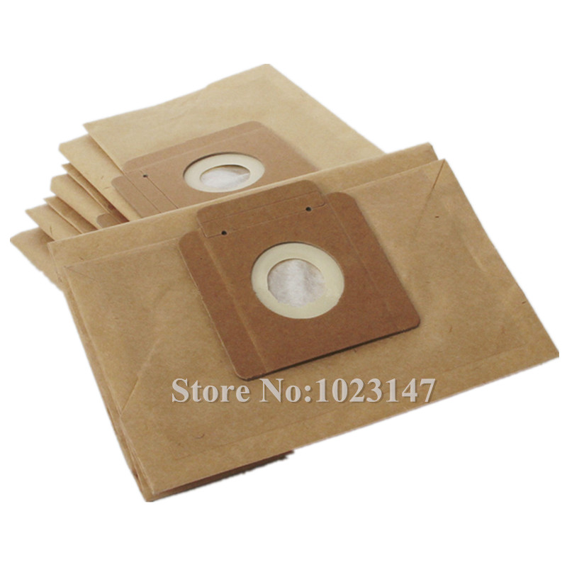 5 pieces/lot Vacuum Cleaner Filter Bags Paper Dust Bag Replacement for Karcher T12/1 T10/1 T7/1 T9/1 T9/1 Bp цена 2017