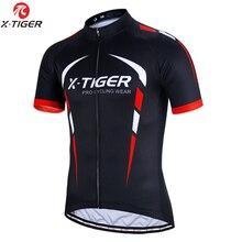 X TIGER 100% Polyester Maillot de cyclisme été vêtements de vélo de montagne Maillot vêtements de vélo de course vêtements de cyclisme